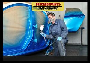 DRY CANDY PAINT ® 25g kit for Car - Automotive Pearl Paint with Pigment 🚗 HVLP