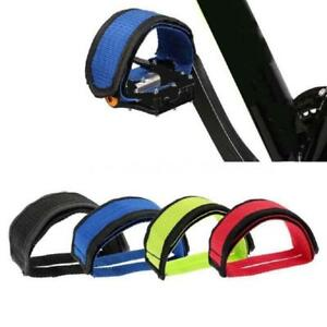 Soldier Fixed Gear Fixie BMX Bike Bicycle Anti-slip Double Adhesive Straps AA