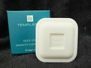 40g TEMPLESPA SOAP - KEEP CALM AROMATIC CLEANSING BAR