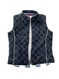 Girls Joules quilted Navy gillet 9-10 years