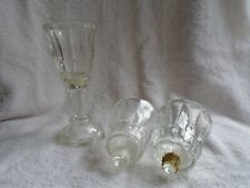 *3* Home Interiors Tulips Style Votive Sconce Cups
