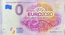 BILLET 0  EURO SOUVENIR UEFA EURO 2020  ALLEMAGNE  NUMERO DIVERS