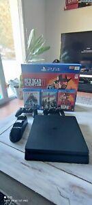 Sony PlayStation 4 Slim 1To Console - Noire avec facture d'origine.