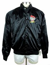 New MISHKA MNWKA Keep Watch Eyeball Black Varsity/Baseball Jacket Coat XL NWT!