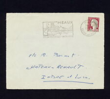 (NNSP 491) FRANCE 1964 COVER FRONT MEMORABLE PICTORIAL SHIP CANCEL MEAUX