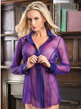 new perspective sexy purple dress sexy short skirt uniforms + T pants Size M J32