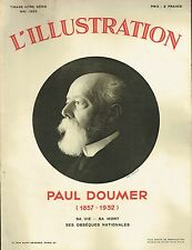 L'illustration - Album Hors série - Paul Doumer (1857-1932) Mai 1932