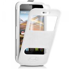 Etui Coque Silicone S-View Couleur blanc Universel S pour Acer Liquid Z220