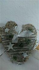 Herz Sterne Weihnachten Shabby Türhänger Fensterschmuck Shabby Chic Landhausstil