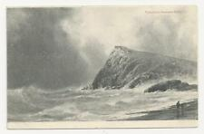 Old Postcard, Valentines Seascape Series, Rough Seas