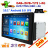 "10.1"" doppio 2DIN LCD Autoradio Android 9.0 GPS NAVI WiFi 3G HD RDS OBD DAB+"