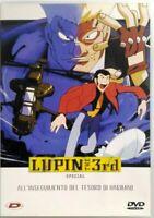 Dvd Lupin III the 3rd - All'inseguimento del tesoro di Harimao - Special Dynit