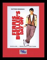 Matthew Broderick Signed Framed 11x14 Ferris Bueller's Day Off Poster Display