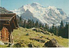 Switzerland - Berner Oberland, Jungfrau - Vintage Postcard