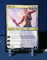 Niko Aris 225/285 MYTHIC RARE MTG Kaldheim Magic NM Legendary Planeswalker Niko