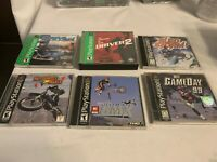 Lot of 6 Play Station One Games Complete in Cases Tested See Pictures for Titles
