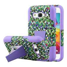 IMPACT X Case for Samsung Galaxy Prevail LTE Galaxy Core Prime - Purple Leopard