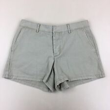 NWT American Eagle AE Classic Khaki Shorts Beige Button Fly 100% Cotton Size 4