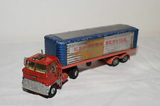 CORGI TOYS 1137 FORD H SERIES CAB EXPRESS SERVICE TRUCK WITH TRAILER EXCELLENT