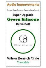 Wilson Benesch Circle & Full Circle Super Upgrade Silicone Drive Belt Green