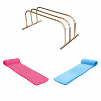 TRC Recreation PVC Drying Rack, Bronze w/ TRC Recreation Pool Loungers