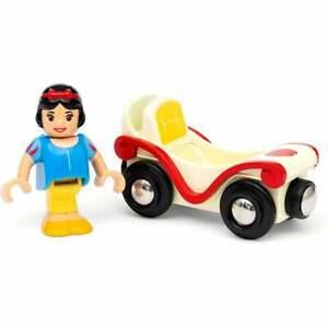 33313 Brio Disney Princess Snow White & Wagon - Wooden Railway. UK Seller