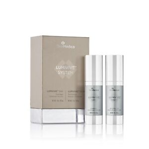 SkinMedica Lumivive Day & Night System 1 oz each bottle 100% Authentic New inBox