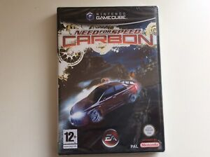 nintendo gamecube Need For Speed Carbon New Sealed