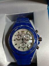Technomarine ceramic blue watch