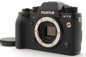 【Near Mint】Fujifilm X-T2 Digital SLR Camera Black Body Only From Japan #1143