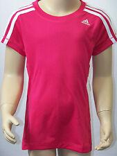 adidas Performance YG CT C Tee T-Shirt Sport pink weiß Kinder Mädchen Climalite