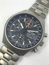 Anteriormente sentido vintage automático chronograph 157 St Ty lemania 5100 con revisión