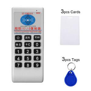 IC NFC ID Card RFID Writer Copier Reader Duplicator Access Control+ 6 CardEX