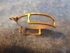 15K SOLID GOLD MONOCLE CUSTOM MADE IN FRANCE CIRCA 1920 FABULOUS CONDITION!