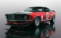 Scalextric C3926 Ford Mustang Boss 302 British Saloon Car Champion:1/32 Slot Car