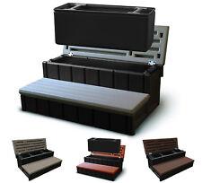 """Confer Plastics 36"""" Spa Steps with Convenient Large Storage Compartment"""