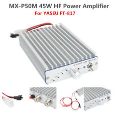 45W MX-P50M HF Power Amplifier For FT-817 ICOM IC-703 Elecraft KX3 QRP Ham Radio