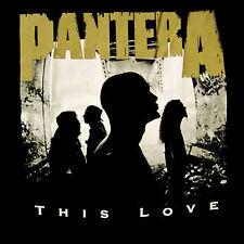 PANTERA cd lgo Vulgar Display of Power THIS LOVE Official SHIRT SMALL new