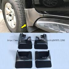 Para Toyota Land Cruiser Prado FJ120 03-09 4 un. Frontal + Trasera Protección contra salpicaduras de barro Solapas