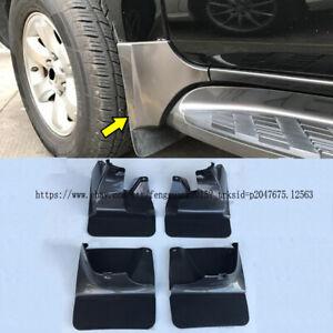 For Toyota Land Cruiser Prado FJ120 03-09 4pcs Front+Rear Mud Flaps Splash Guard