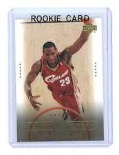 2003 Upper Deck #28 New Reign Lebron James Cavaliers NBA Rookie Card