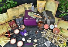 Luxury wiccan Altar Set, witches Altar kit ,Spells, Hag Stone, Witch Gift