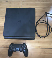 Sony PlayStation 4 Slim 1TB Console - Black+ Controller +Nba 2k19 & Madden 19