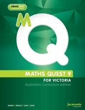 Maths Quest 9 for Victoria Australian Curriculum Edition & Learnon by Jo Bradley