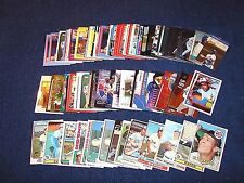 MONTREAL EXPOS COLLECTION OF STARS ROOKIES HOF'S INSERTS VINTAGE (K417-10)