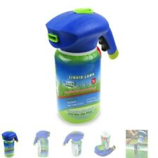 Home Hydro Garden Patio Lawn Liquid Spray Seed Watering Can Grass Shot Bottle