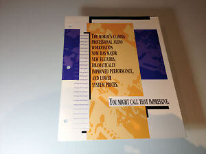 Vintage Digidesign Pro Tools Brochure (1993)