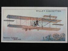 No.46 HERRING CURTISS - Aviation - W.D.& H.O. Wills Ltd 1910