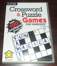 PC CD. Crossword & Puzzle Games For Windows 95, 98, ME
