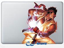 Street Fighter RYU Macbook Stickers Macbook Air / Pro Decals Skin for Macbook SF